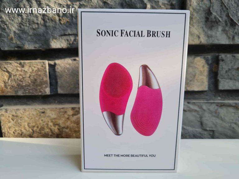 برس پاکسازی ، ماساژور و فیس لیفت پوست sonic facial brush از برند benss